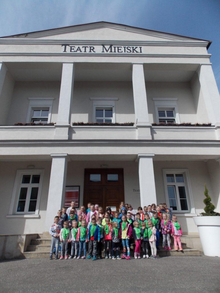 Wycieczka przedszkolaków do Leszna